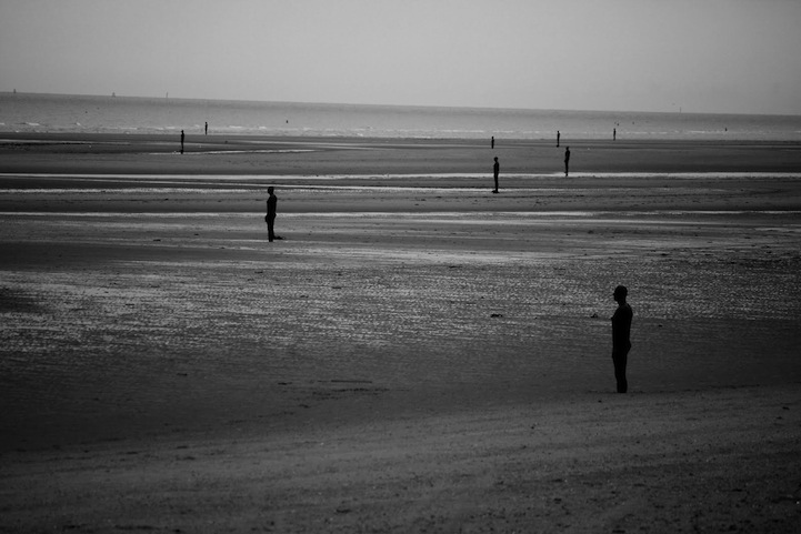 """Another Place,"" 100 Cast Iron Sculptures by Antony Gormley: antonygormleyanotherplace2.jpg"