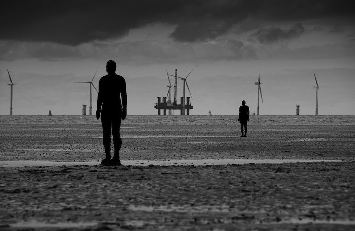 """Another Place,"" 100 Cast Iron Sculptures by Antony Gormley: antonygormleyanotherplace3.jpg"
