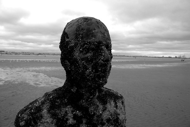 """Another Place,"" 100 Cast Iron Sculptures by Antony Gormley: antonygormleyanotherplace6.jpg"