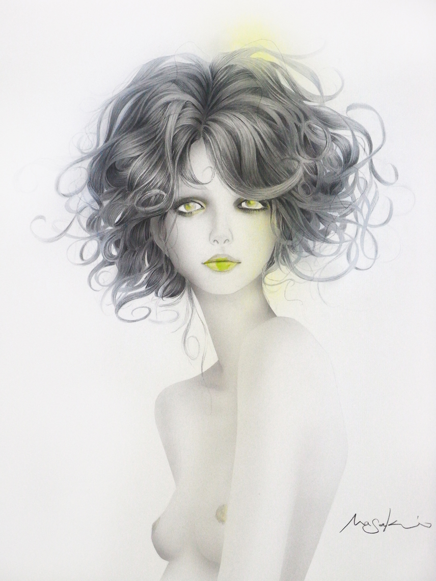 Erotic Fashion Illustration by Masaki Mizuno: Like a virgin 1.jpg