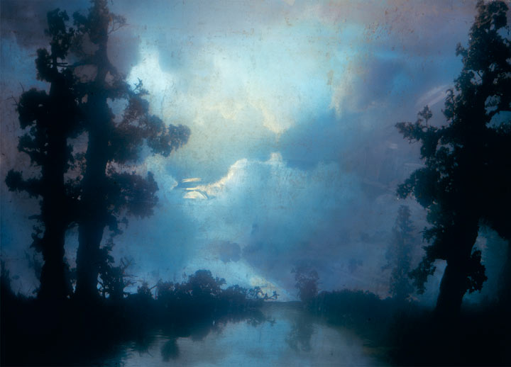Best of 2013: Kim Keever's Water Tank Diorama Photography: 4423-forest-83c-34x44-53x72-61x83-2007.jpg
