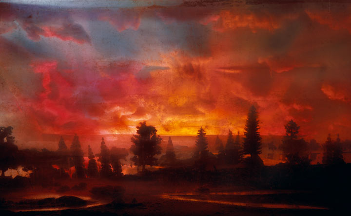 Best of 2013: Kim Keever's Water Tank Diorama Photography: 4424-sunset-44d-31x48-46x7252x82-20071.jpg
