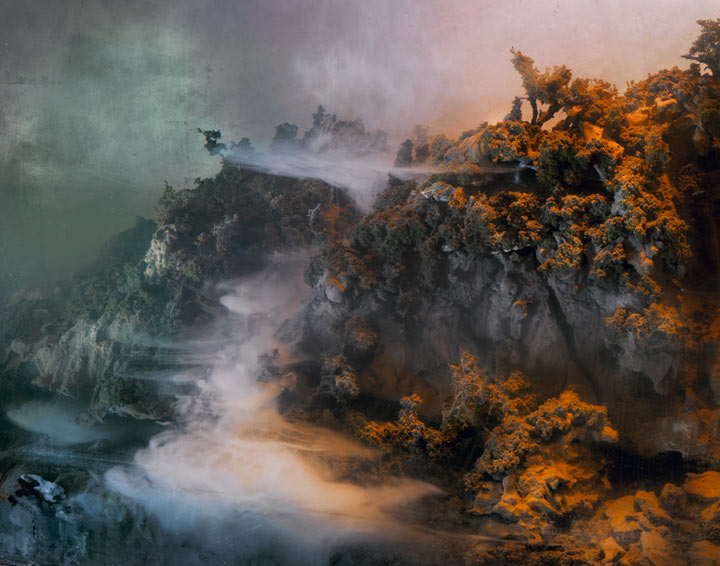 Best of 2013: Kim Keever's Water Tank Diorama Photography: 4644-waterfall-044d-37x46-55x69-68x86-20101.jpg