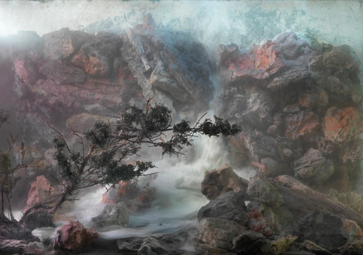Best of 2013: Kim Keever's Water Tank Diorama Photography: 4656-waterfall-56f-50x70-60x85-20101.jpg