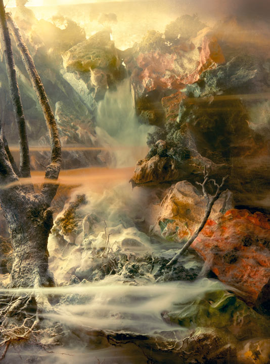 Best of 2013: Kim Keever's Water Tank Diorama Photography: 4656a-waterfall-114j-70x53-85x64-95x72-20101.jpg