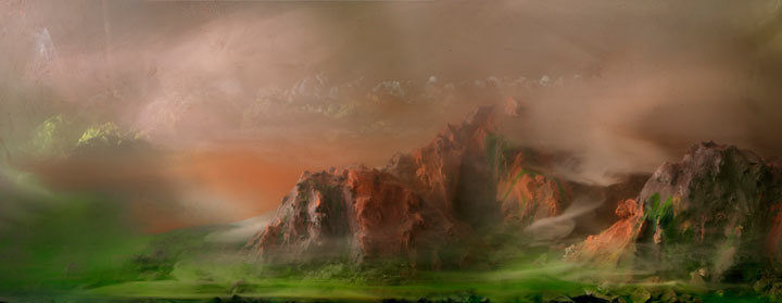 Best of 2013: Kim Keever's Water Tank Diorama Photography: 4904-mountains-04f-30x72-2011-copy.jpg
