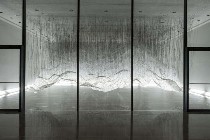 "Yasuaki Oishi's Negative Space ""Reverse of Volume RG"" Installations: Onishi_Rice_02.jpeg"