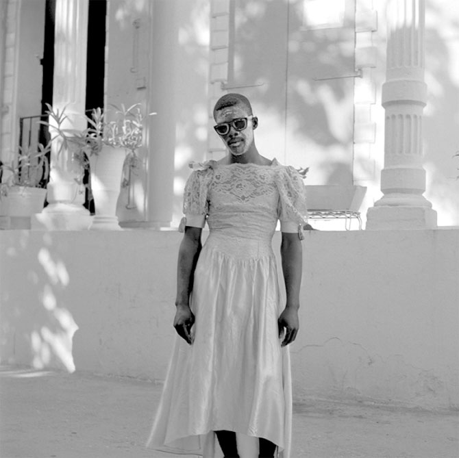 Leah Gordon's Photographs of Kanaval in Haiti: transvestite-ghost.jpg