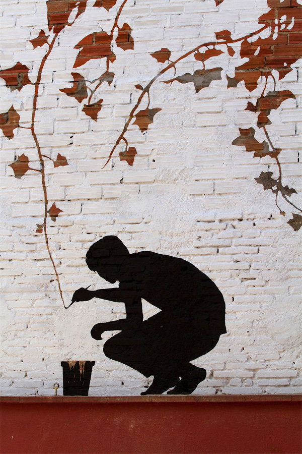 Painting branches mural by Pejac: jux_pejac3.jpg