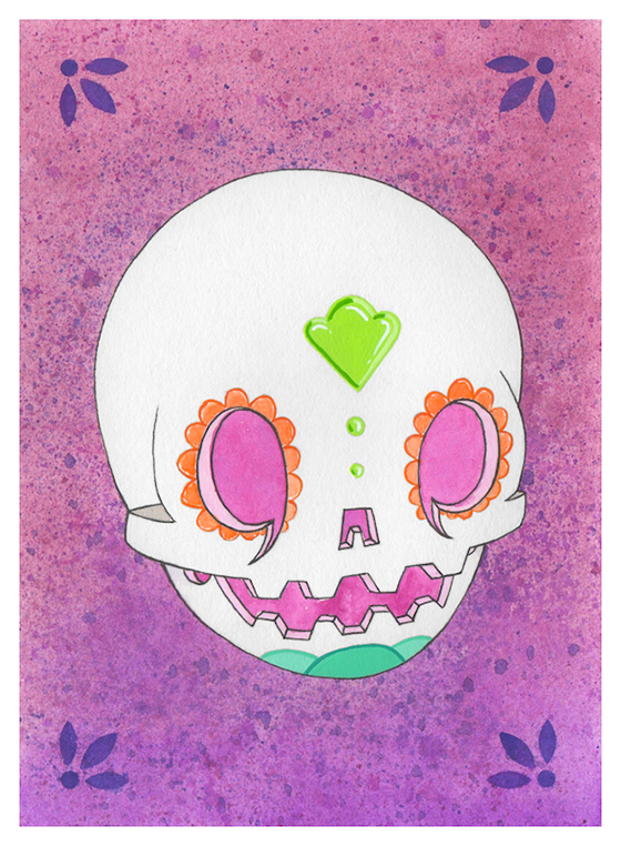 The Beast Brothers: calaverita portrait 001 5x7.png