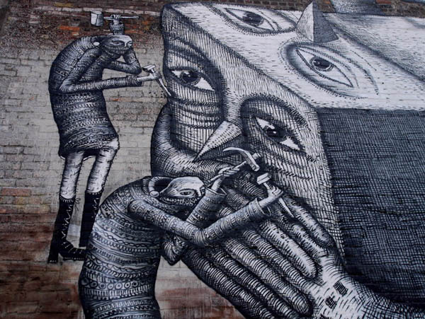 2 new walls from Phlegm in Montreal: jux_phlegm1.jpg