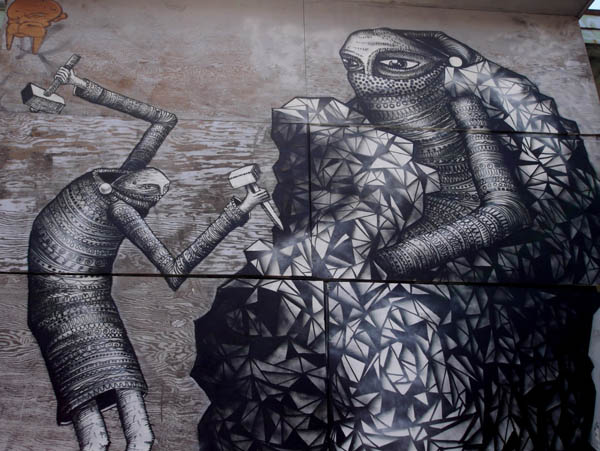 2 new walls from Phlegm in Montreal: jux_phlegm2.jpg