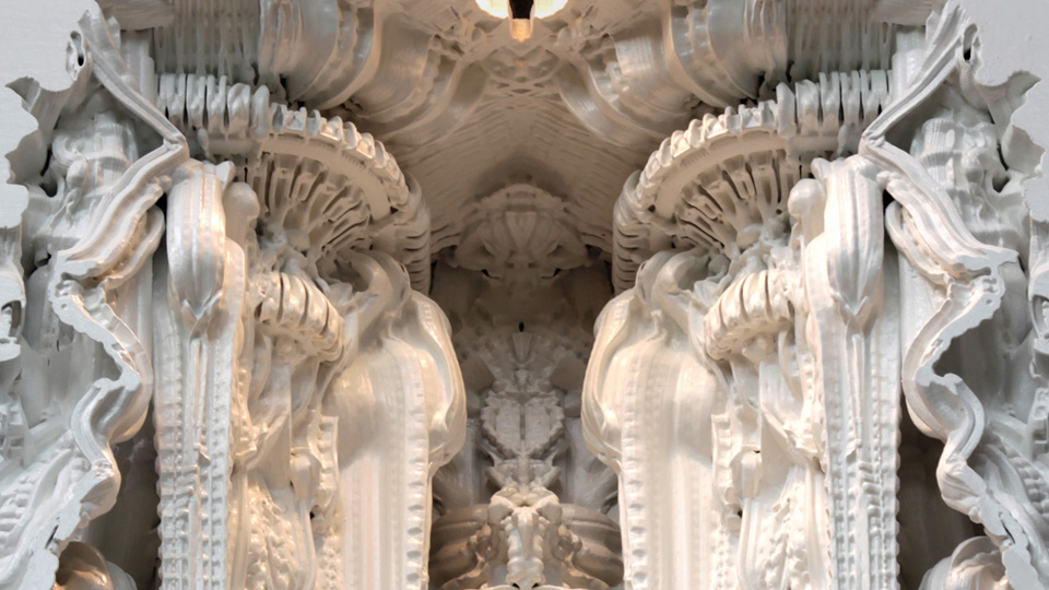 Digital Grotesque's Digitally Printed Room with 80 Million Surfaces: white1.jpg
