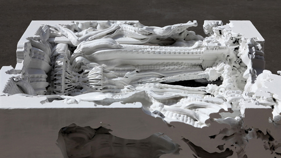 Digital Grotesque's Digitally Printed Room with 80 Million Surfaces: white3.jpg