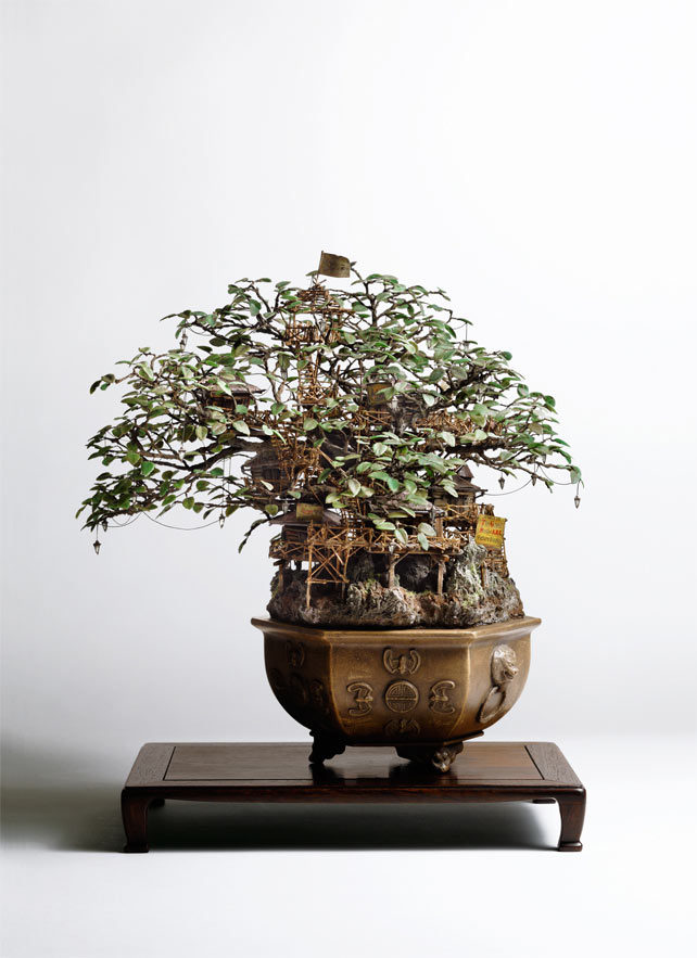 Bonsai Treehouses and other Sculptures by Takanori Aiba: 1_Aiba_Bonsai-A_view11.jpg