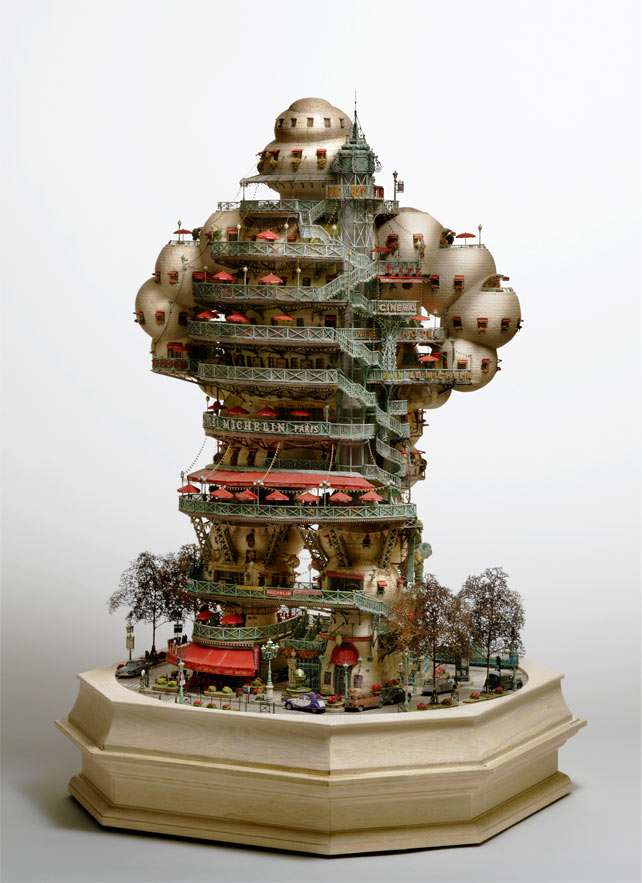Bonsai Treehouses and other Sculptures by Takanori Aiba: 3_Aiba_H.jpg