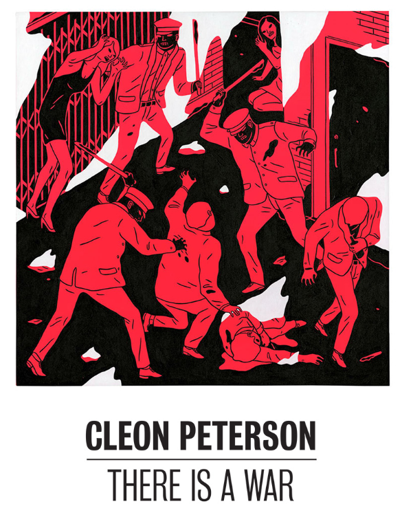 "Cleon Peterson ""There Is A War"" @ The Outsiders, London: Screen shot 2013-07-01 at 3.29.52 PM.png"