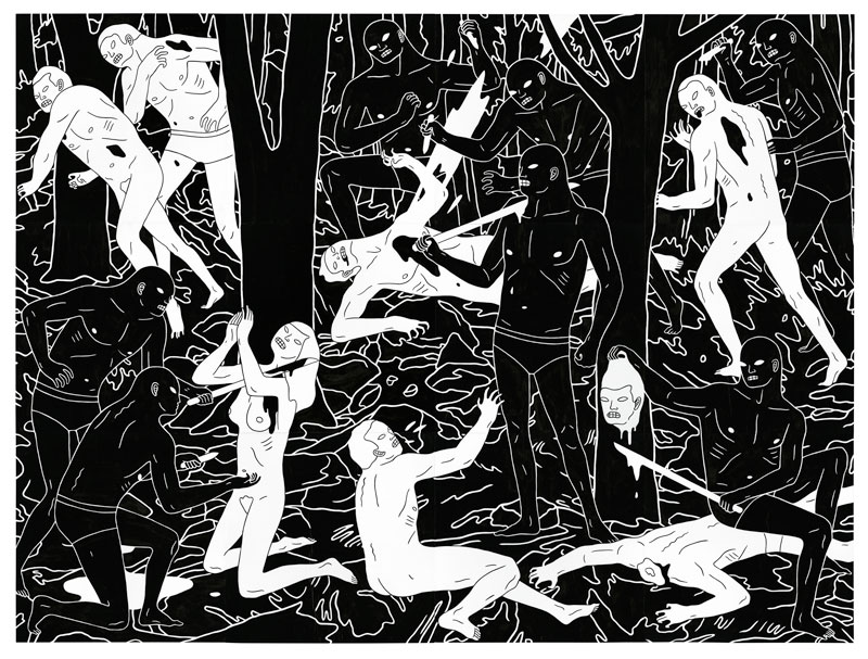 "Cleon Peterson ""There Is A War"" @ The Outsiders, London: cleon-peterson-solo-exhibition-538.jpg"