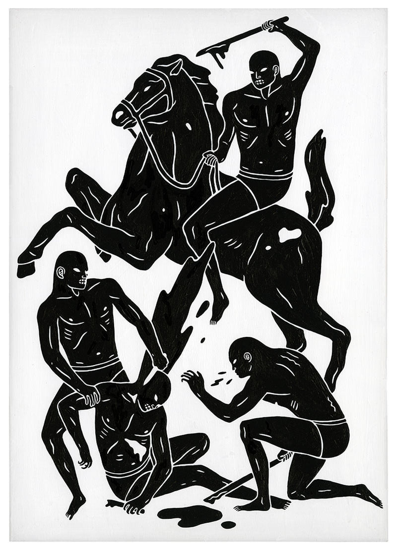 "Cleon Peterson ""There Is A War"" @ The Outsiders, London: cleon-peterson-solo-exhibition-540.jpg"