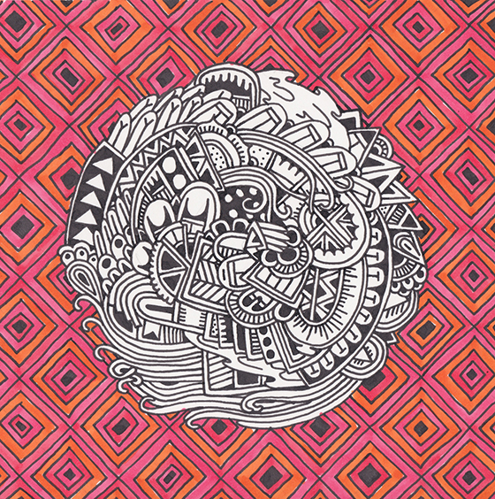 Tribal Psychedelia by Sophie Roach: tumblr_mp0pv98olF1rrf1y0o1_1280.jpg