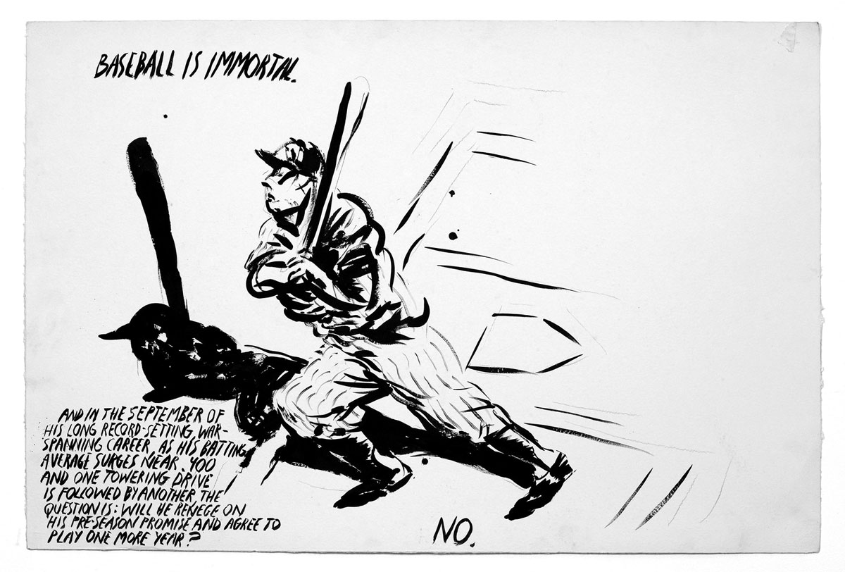 Raymond Pettibon on Baseball: 23opart.large_.jpeg