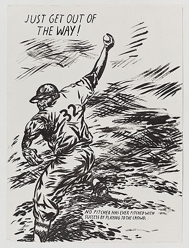 Raymond Pettibon on Baseball: 42.jpg