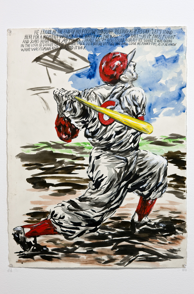 Raymond Pettibon on Baseball: RaP 7274.jpg