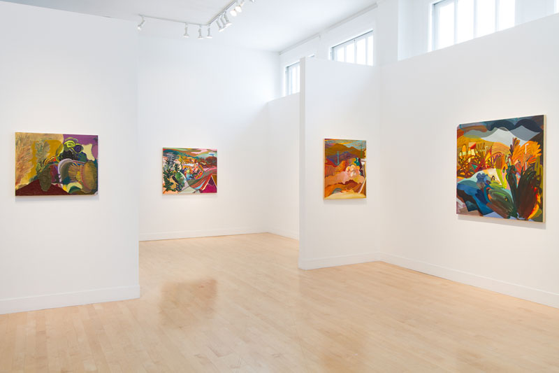 "Karla Wozniak ""THIS WEATHER IS COSMIC"" @ Gregory Lind, SF: install1.jpg"