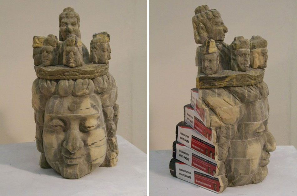 Recycled Book Sculptures by Long-Bin Chen: gallery5.jpg