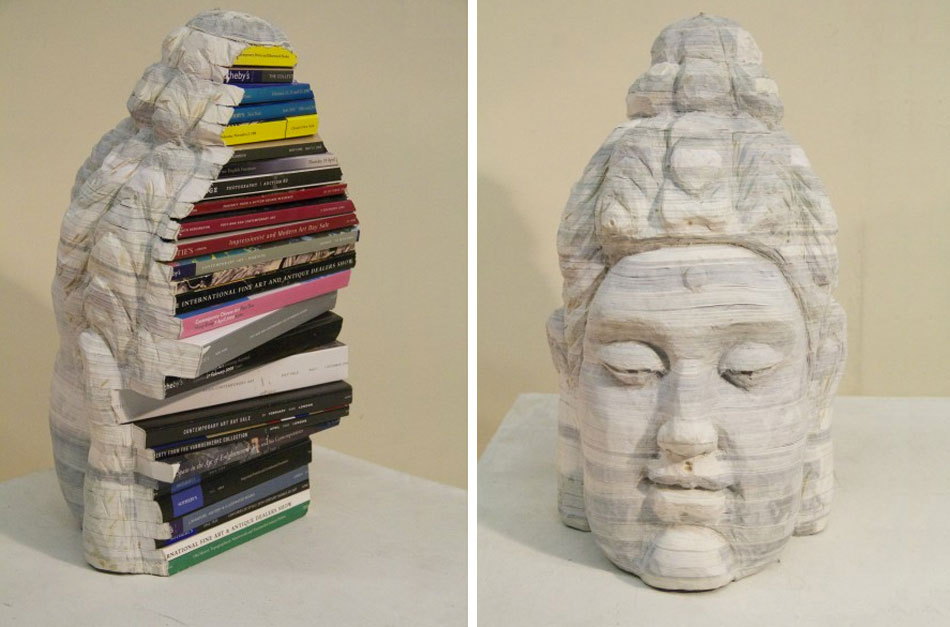 Recycled Book Sculptures by Long-Bin Chen: gallery6.jpg