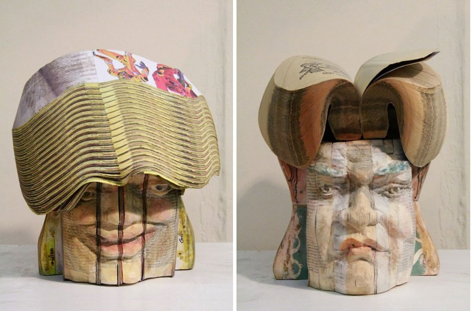 Recycled Book Sculptures by Long-Bin Chen: gallery7.jpg