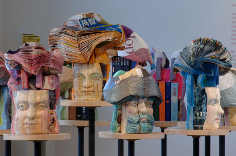 Recycled Book Sculptures by Long-Bin Chen: long-bin-chen-book-sculptures-designboom-01.jpg