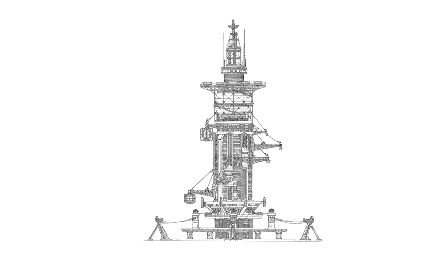 Impossible Architectural Illustrations by Toby Melville-Brown: towers1_900x700_2_5_2048.png