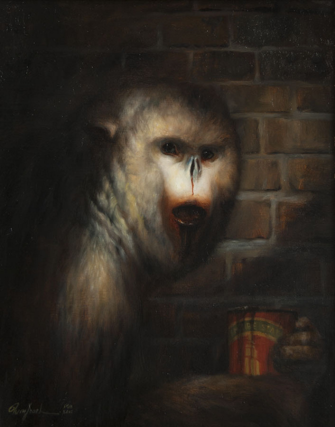 Martin Wittfooth's Tooth and Claw: martin14.jpg