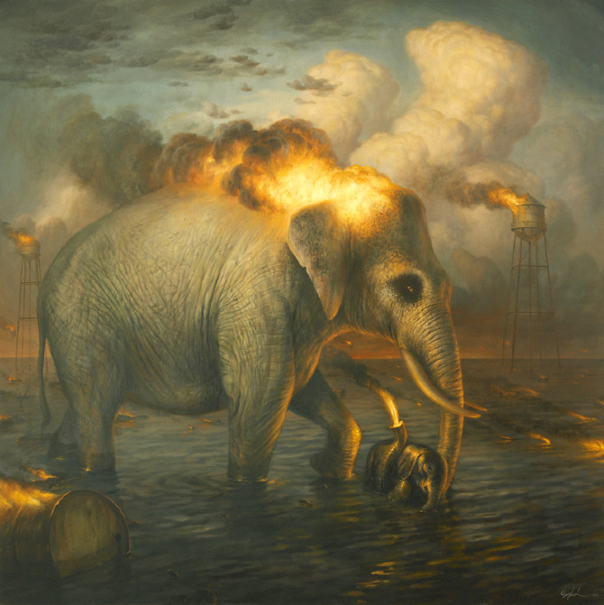Martin Wittfooth's Tooth and Claw: martin19.jpg