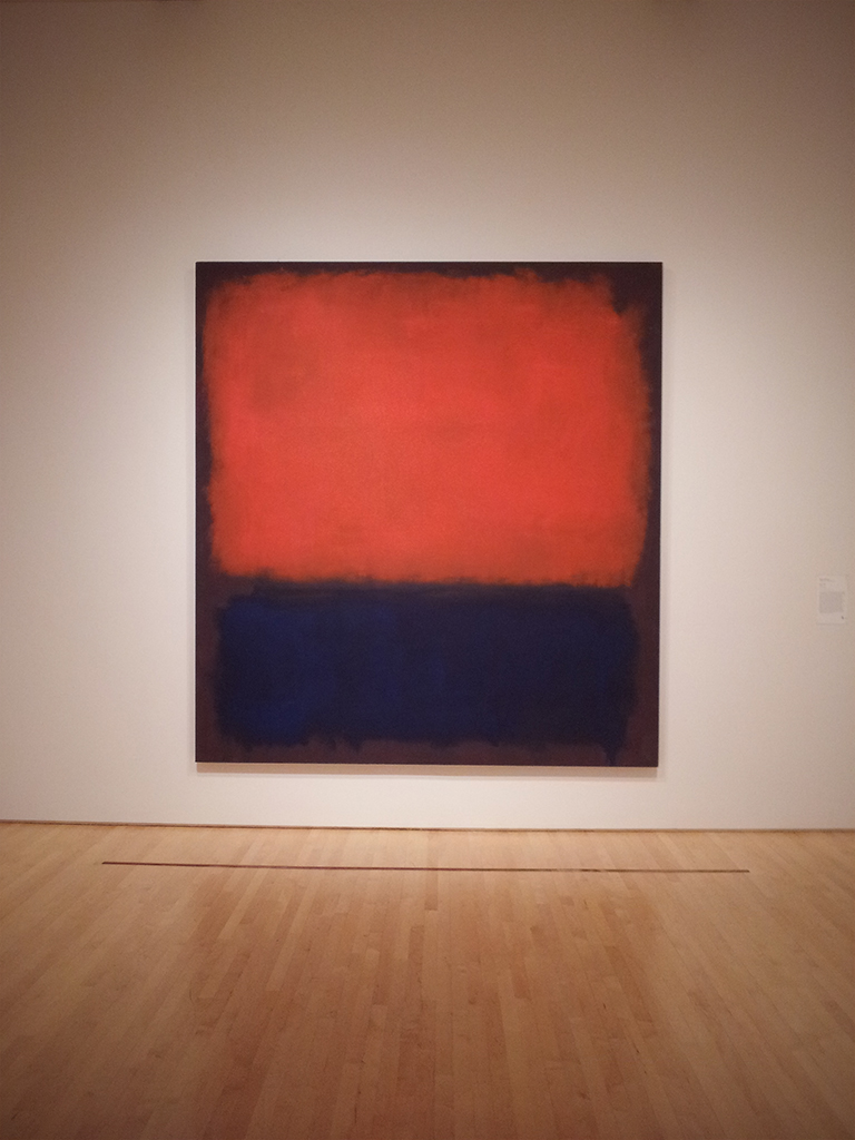 Beyond Belief: 100 Years of the Spiritual in Modern Art @ SFMOMA/Contemporary Jewish Museum: Rothko_No_14WP.jpg