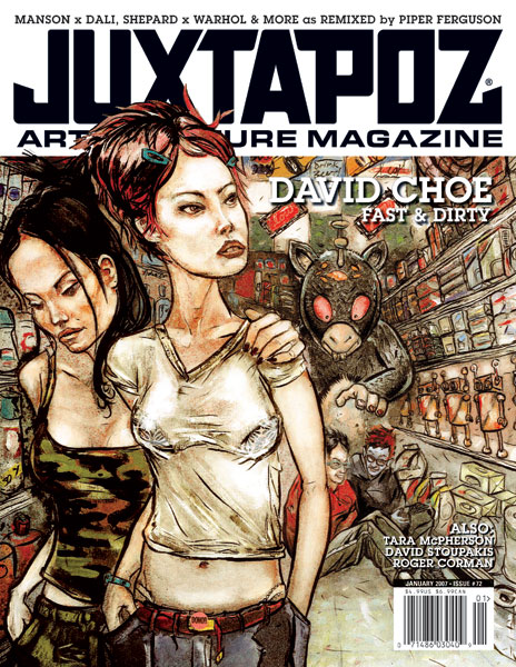 David Choe: Special Signing w/Juxtapoz @ Comic-Con, San Diego: 17.jpg