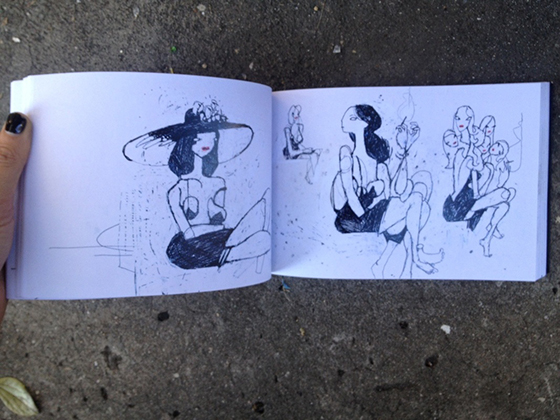 Anthony Lister: 10 Years of Sketches: 1224568_orig.jpg