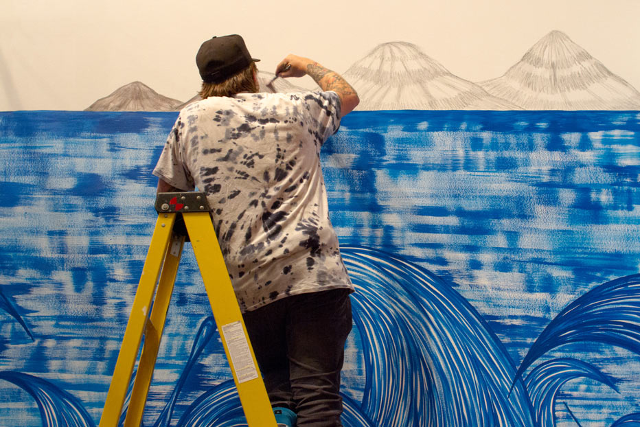Juxtapoz Presents: Andrew Schoultz @ Monterey Museum of Art (video): 070213_4615.jpg