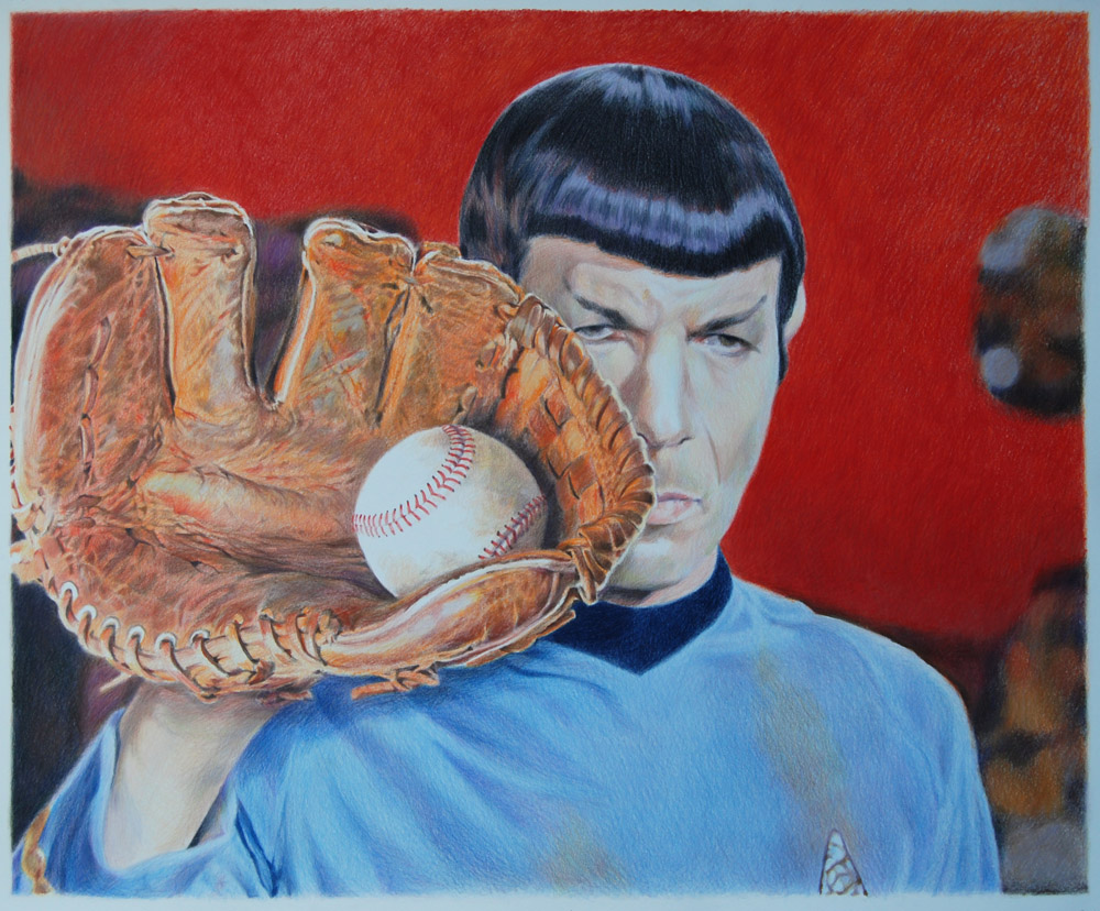 Checking In With... Eric Yahnker: 2013_Vulcan_Leather_36x44.jpg