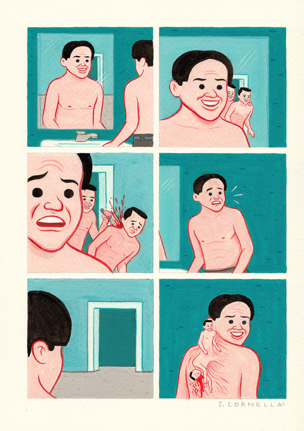Update: Borderline Disturbing Comics from Joan Cornella: TWINS.jpg