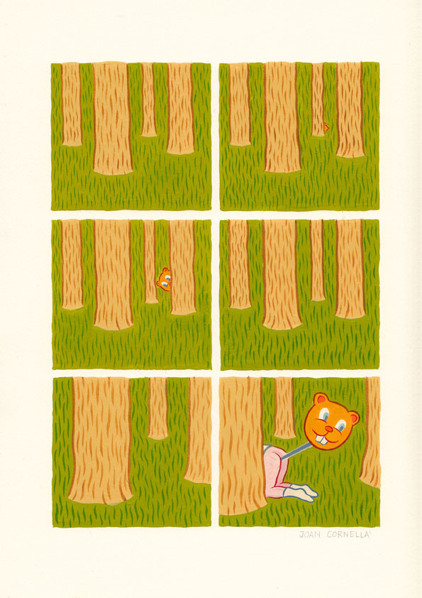 Update: Borderline Disturbing Comics from Joan Cornella: WOODS.jpg
