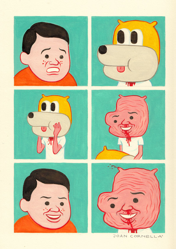 Update: Borderline Disturbing Comics from Joan Cornella: chunter2-1.jpg