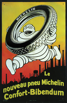 The History of the Michelin Man: confort-bibendum-poster.jpg
