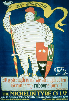 The History of the Michelin Man: michelin-man-bibendum-1905.jpg