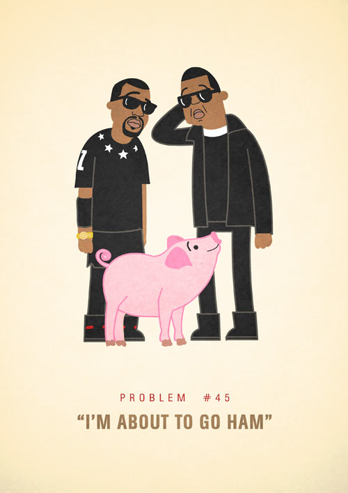Jay-Z's 99 Problems Illustrated by Ali Graham: tumblr_mpz4rtuLWI1s3cqiio1_500.jpg
