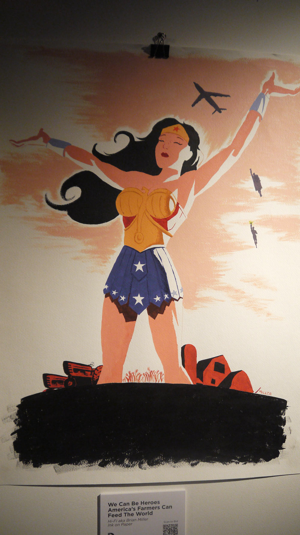 "DC Comics ""We Can Be Heroes"" Art Auction @ Comic Con 2013: P1090461.jpg"