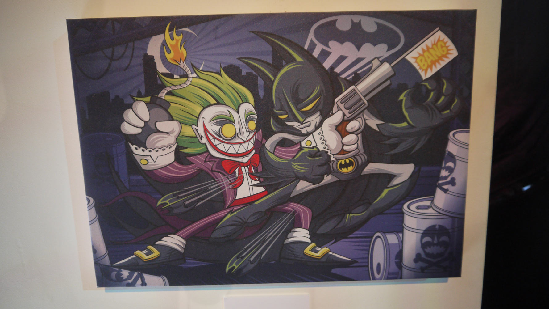 "DC Comics ""We Can Be Heroes"" Art Auction @ Comic Con 2013: P1090477.jpg"