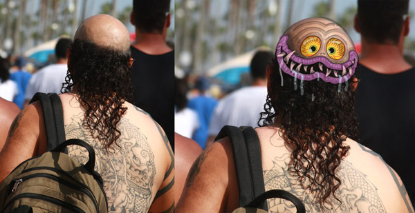 Kustom Kulture II @ Huntington Beach Art Center: VeniceGuy_FinkMakeover.jpg
