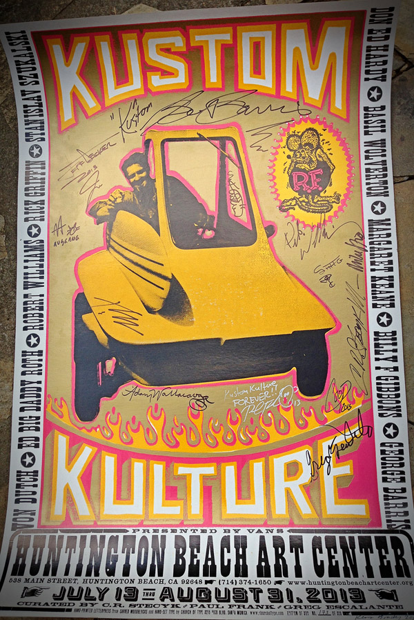 Kustom Kulture II @ Huntington Beach Art Center: photo (21).JPG